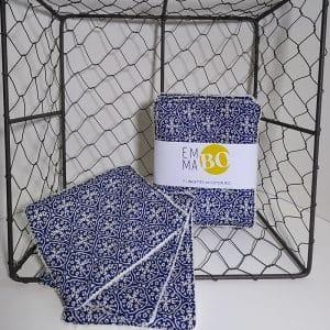 Lingettes lavables azulejos